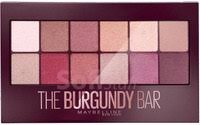 Уцінка Maybelline New York Maybelline New York The Burgundy Bar Palette Палетка тіней для повік